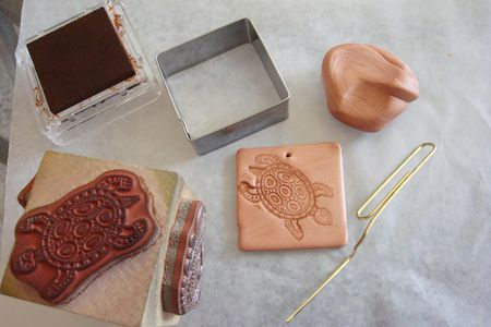 Learn About Polymer Clay and Rubber Stamps