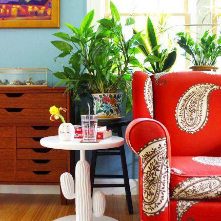 DIY Cactus Side Table