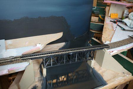 How to Create a Model Train Bridge Scene