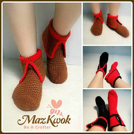 10 Crochet Sock Patterns