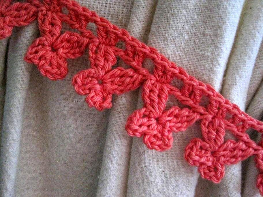 Butterfly Curtain Ties Free Crochet Pattern