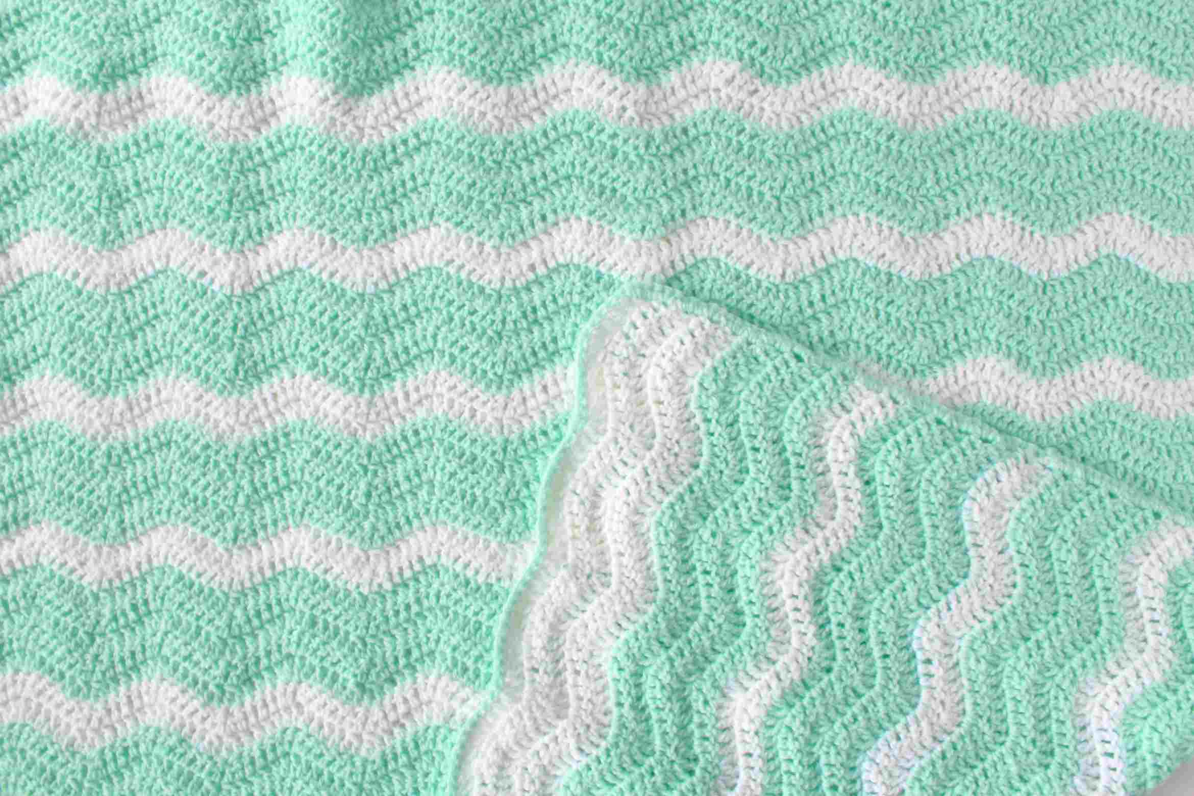 Zigzag Crochet Pattern Simple Decorating Ideas