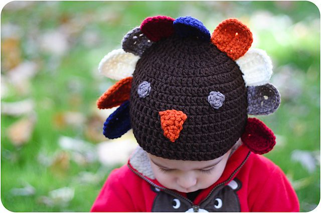 b6ed7853c76 Crochet a Turkey Hat with These Free Patterns