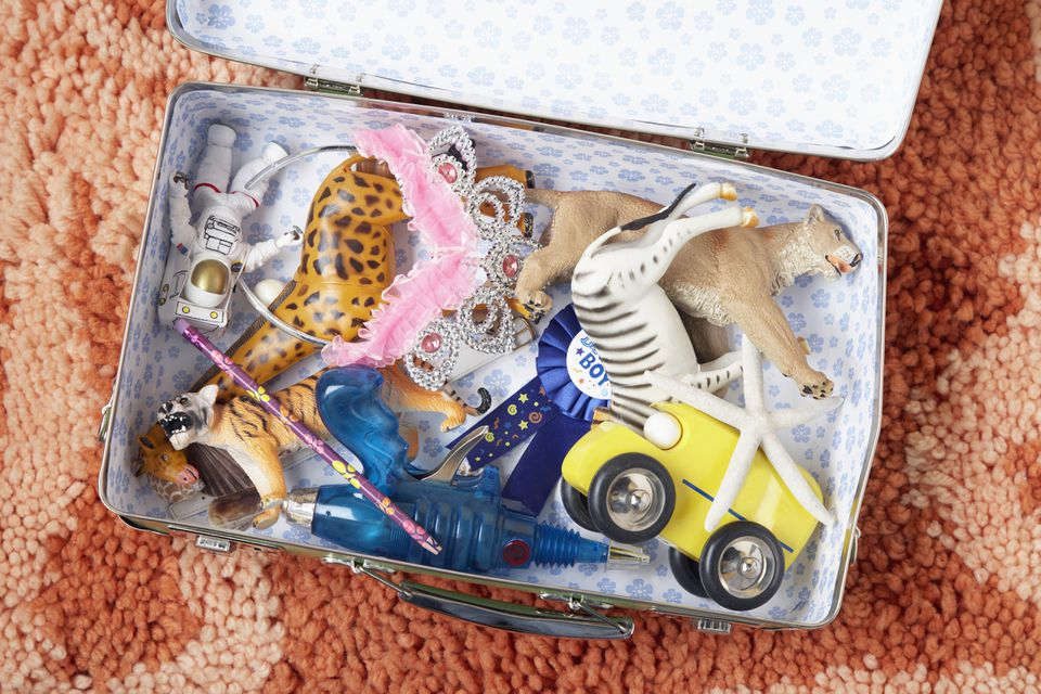Suitcase Full of Toys