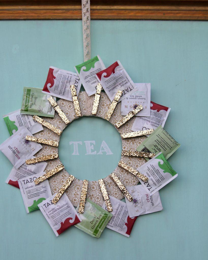 tea wreath