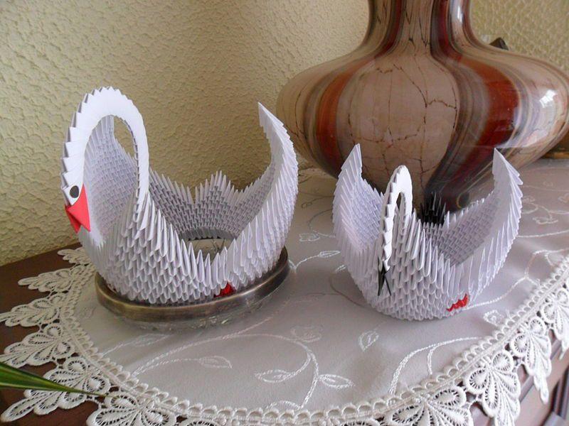 3D Origami Swan