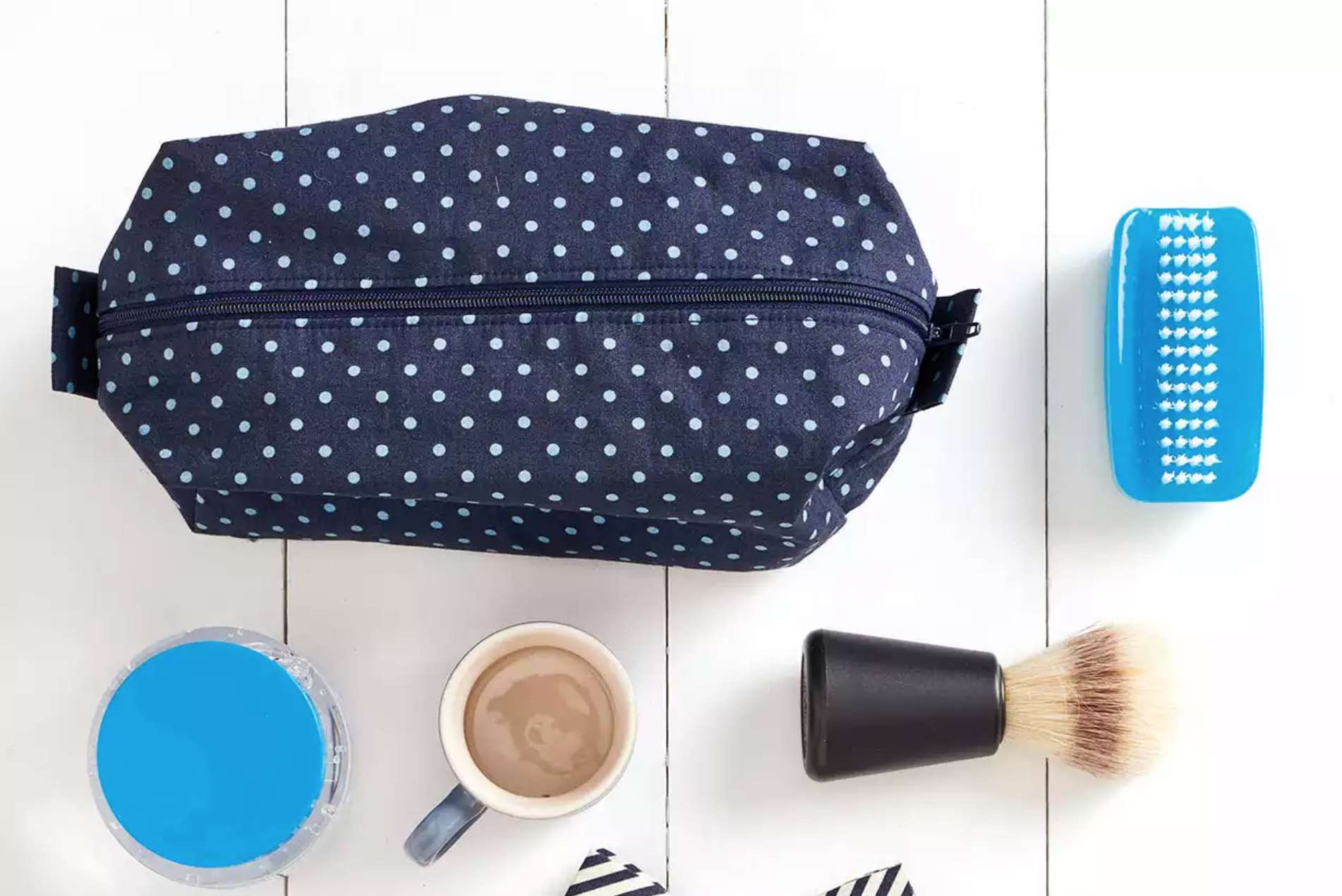 How to Sew a Wash Bag