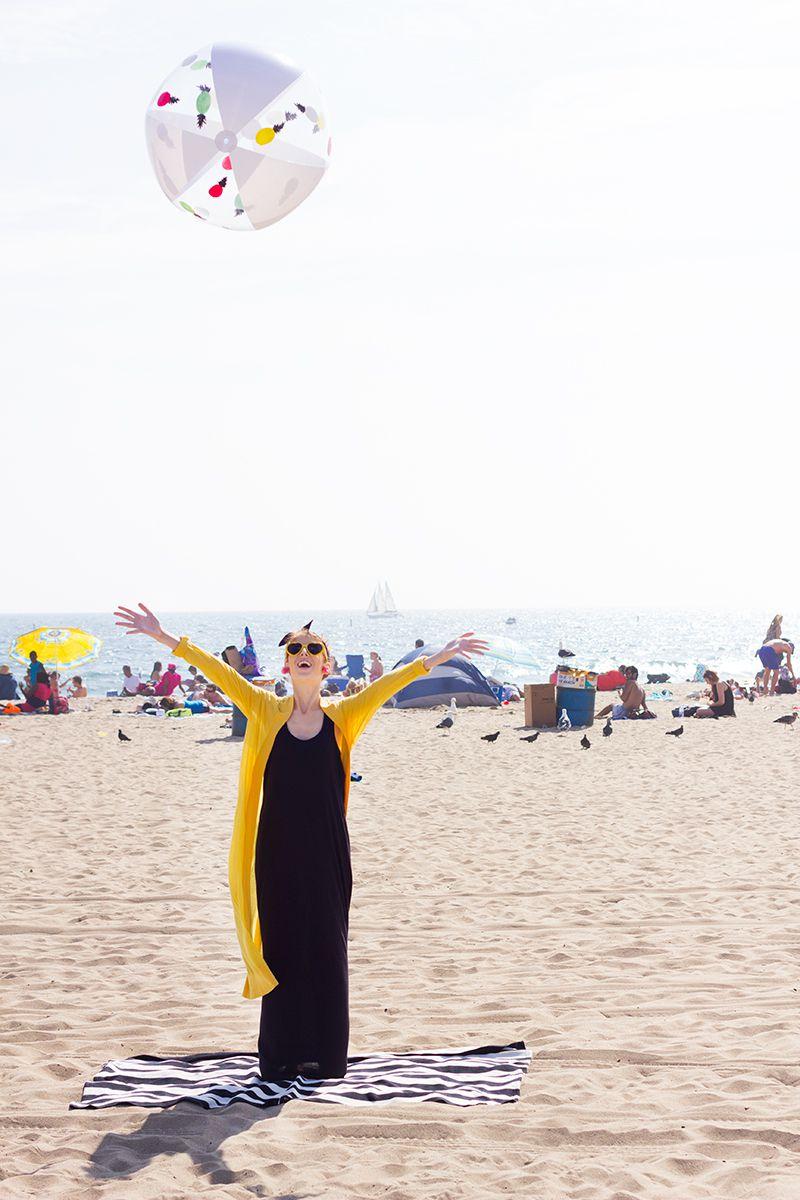 DIY Pineapple Beach Ball