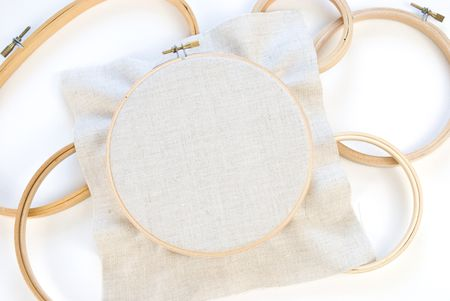 How to Securely Place Fabric in an Embroidery Hoop