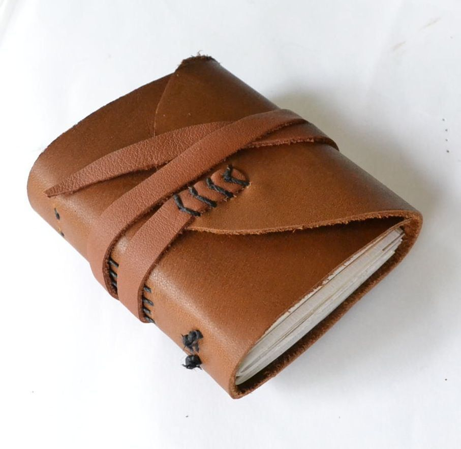 Leather and Recycled paper Journal