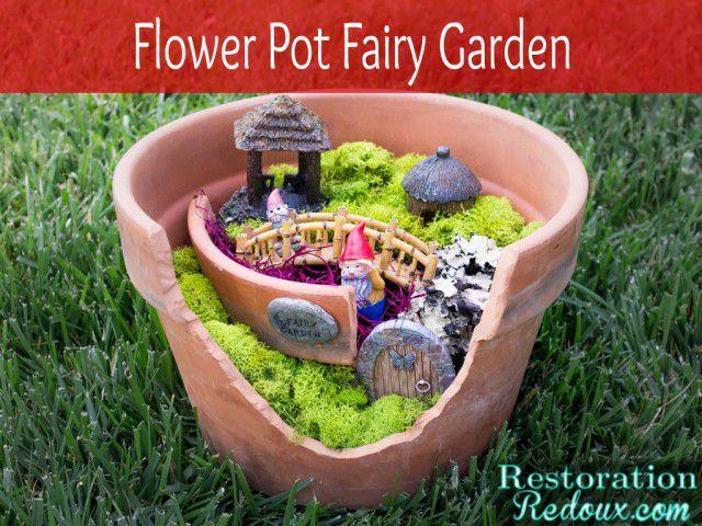 Fairy Pot Garden