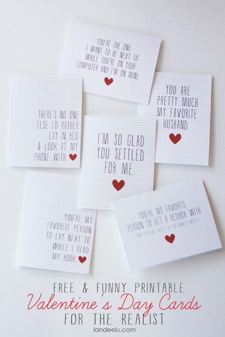 54 funny and free valentine s day cards you can print