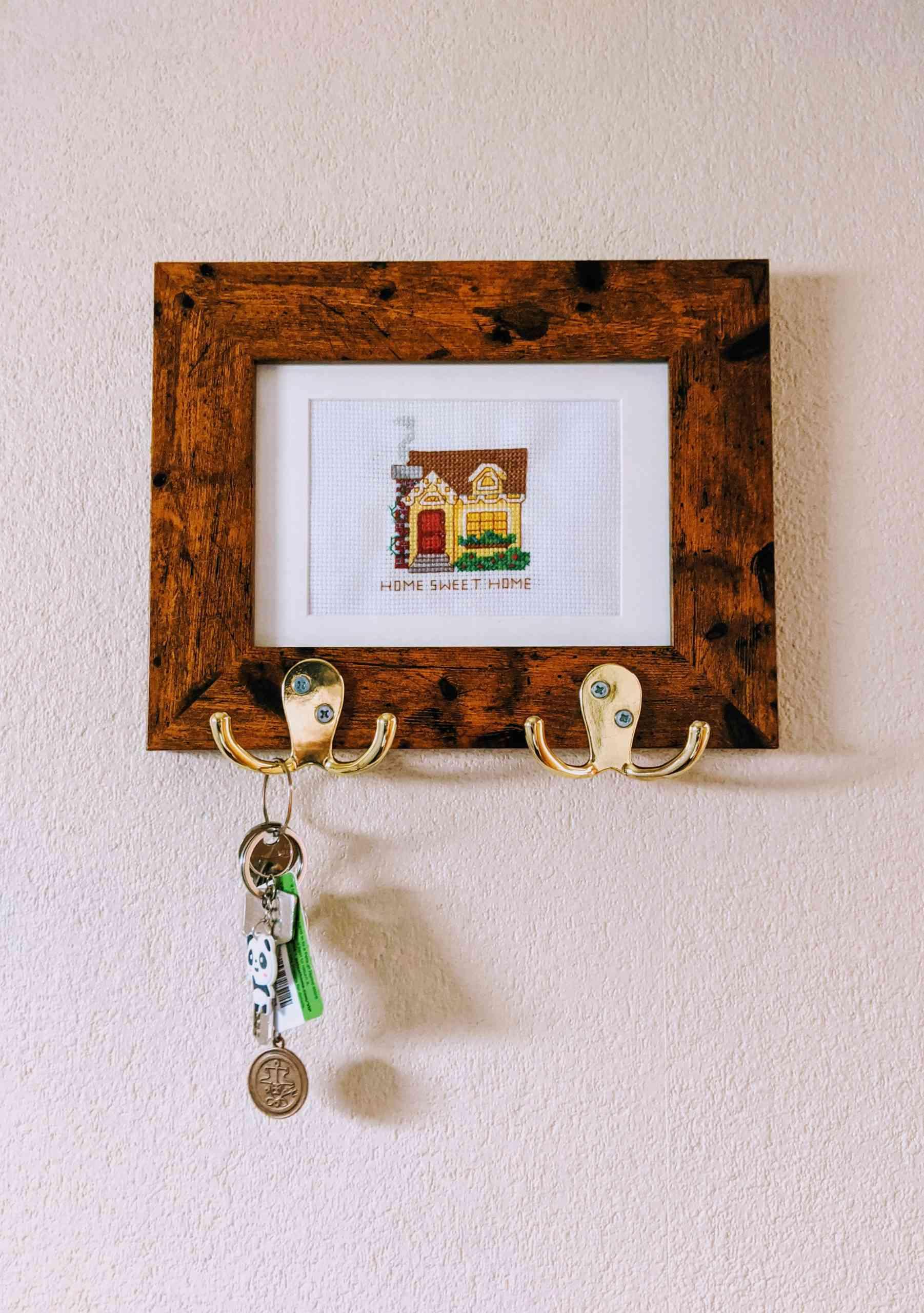 Photo Frame Key Holder