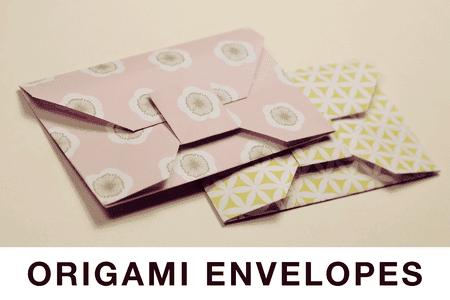 Traditional Origami Envelope Tutorial
