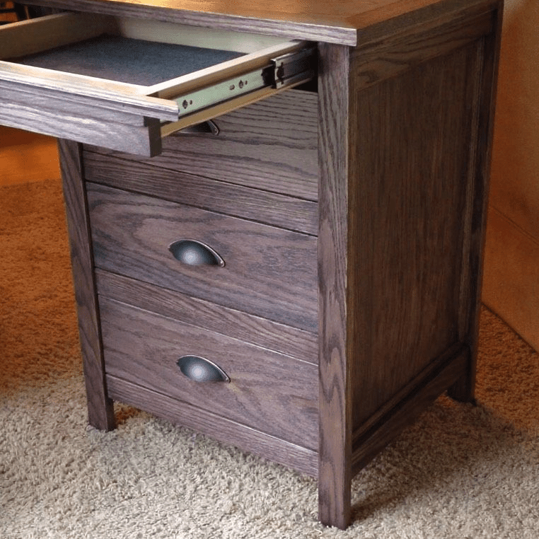 Free Instructables Nighstand Plan With A Locking Secret Drawer Picture Of Nightstand