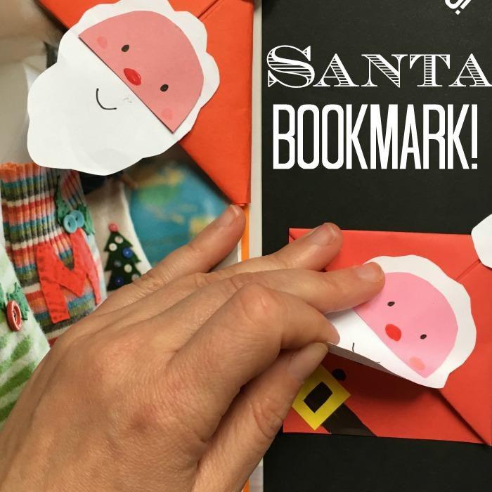 Santa Corner Bookmark