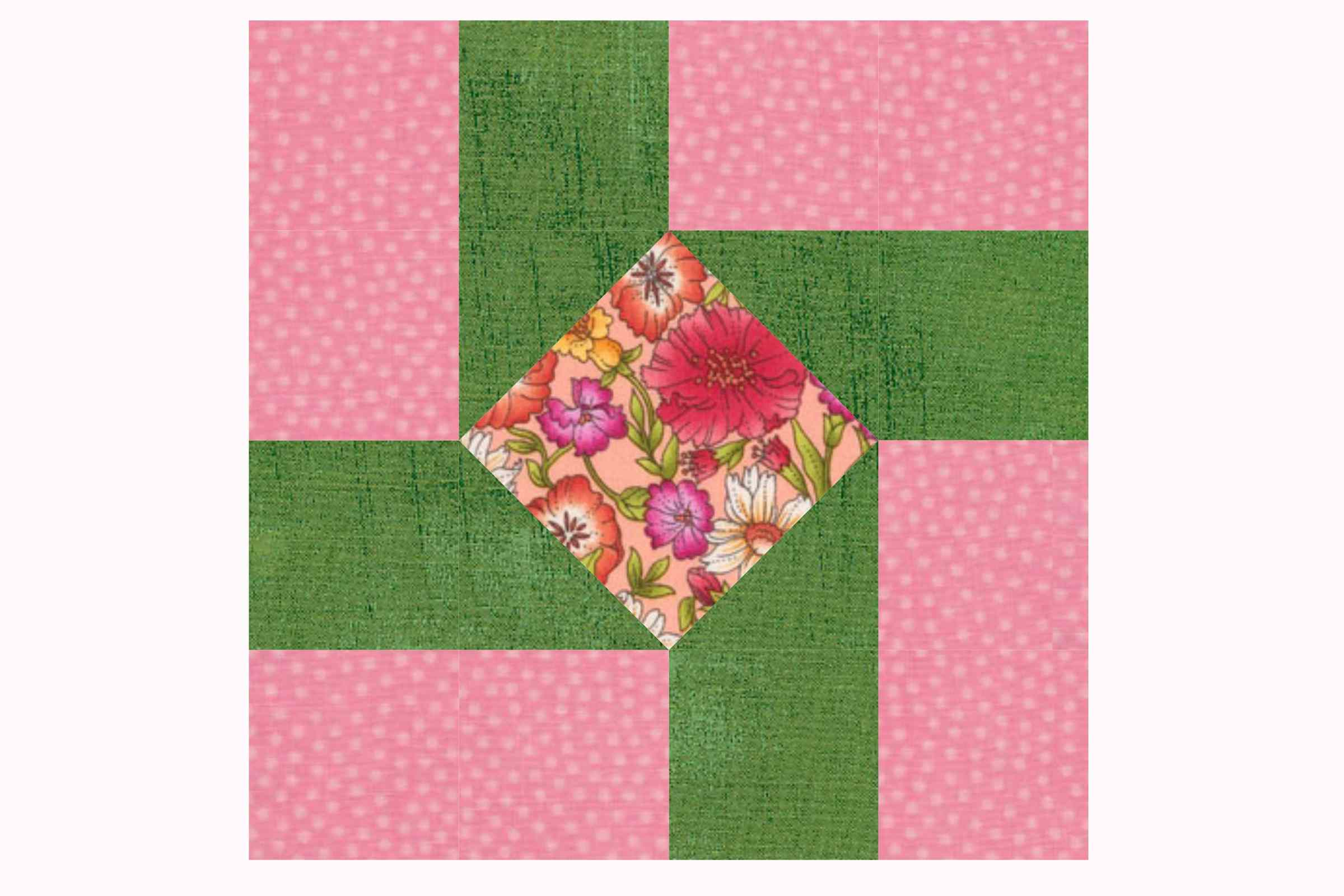Susannah an Easy Patchwork Quilt Block Pattern