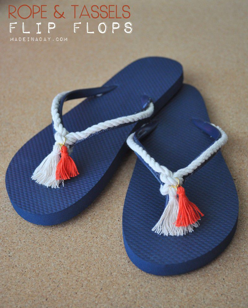 80130d688bce04 20 Creative Ways to Make DIY Flip Flops