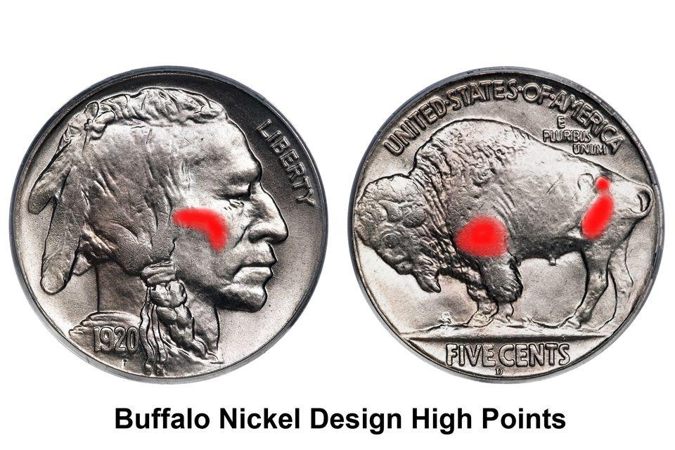 Buffalo Nickel Design High Points