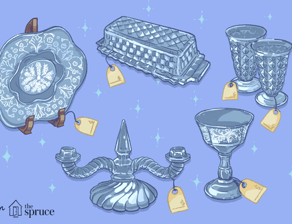 Illustration of glassware