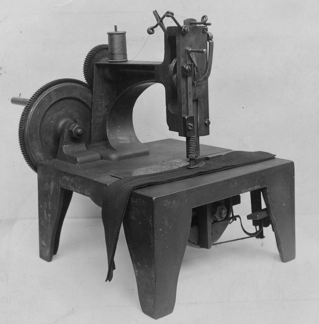 Isaac M. Singer, Inventor of the Singer Sewing Machine