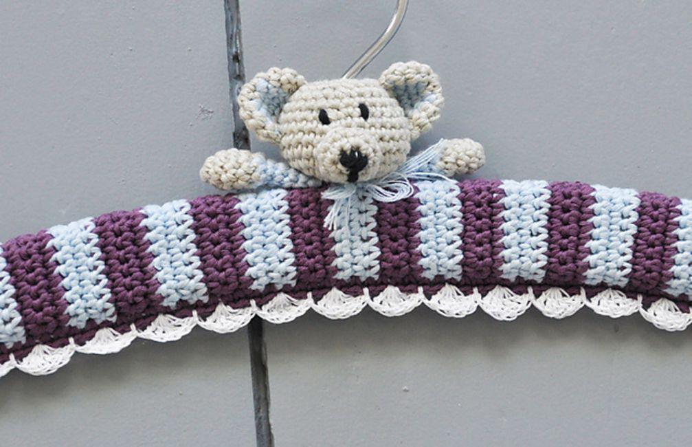 How To Crochet Hanger Covers
