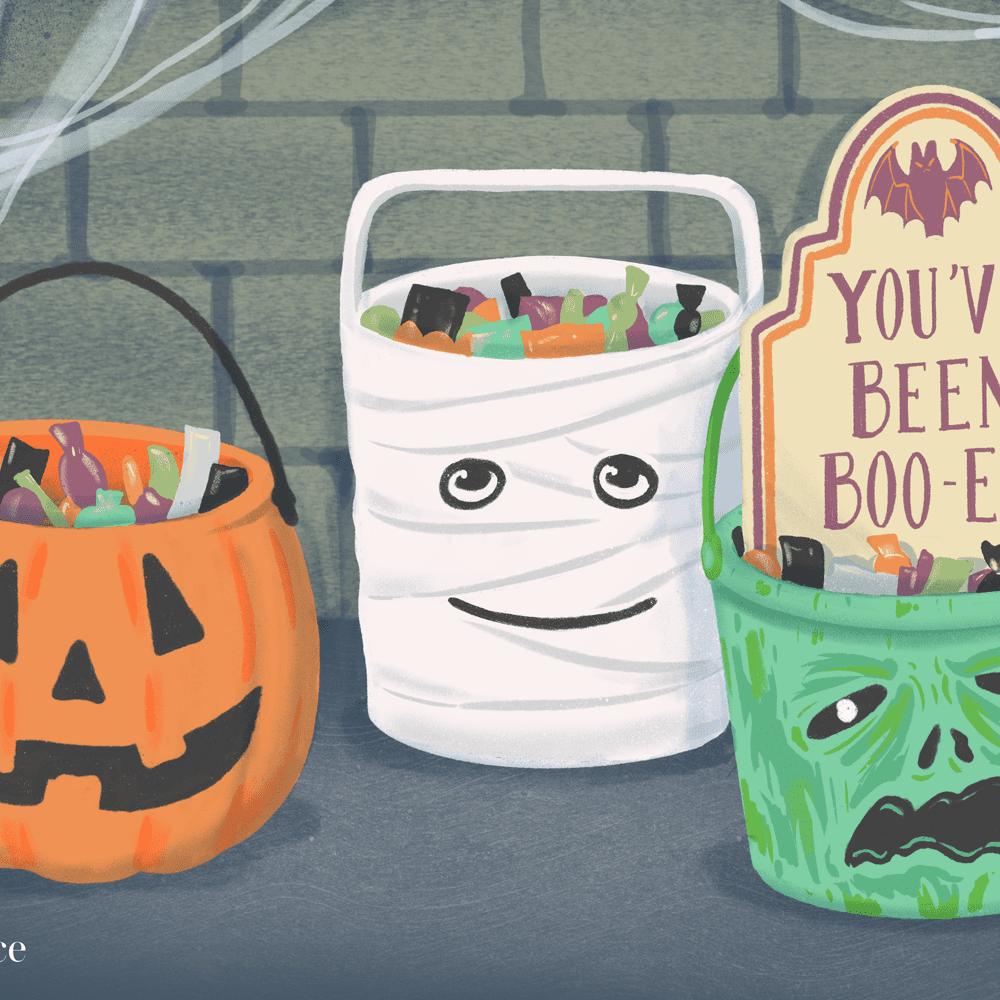 Download Diy Halloween Candy Bucket Images