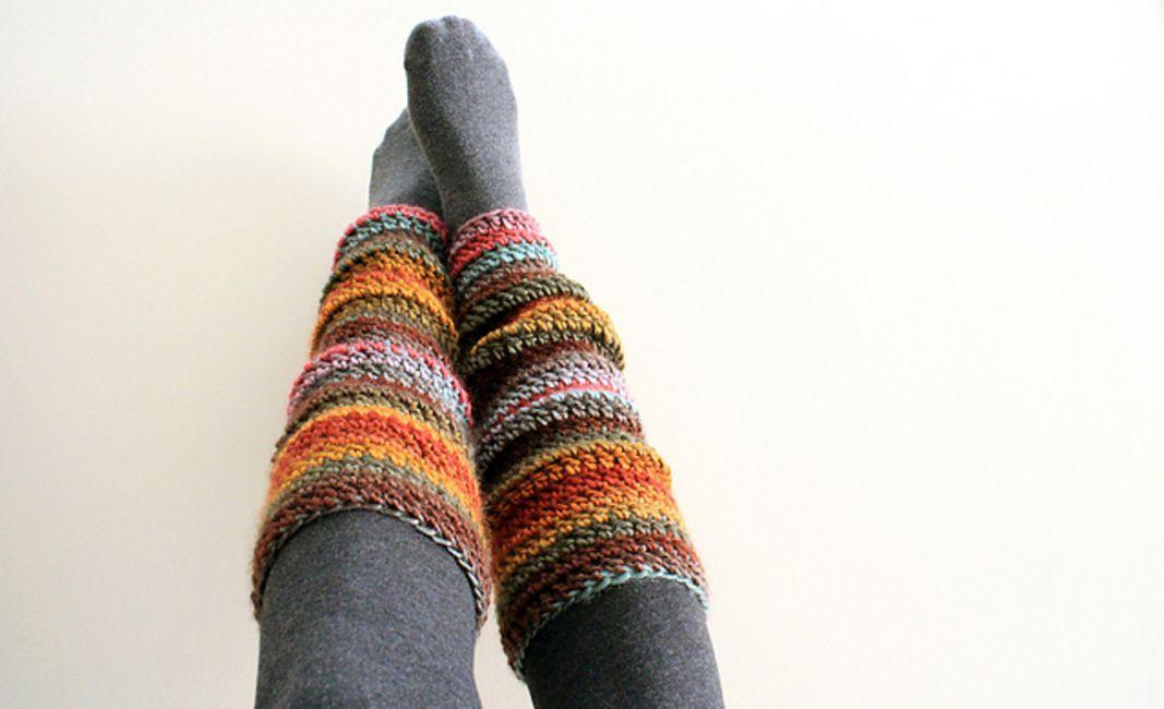 Easy Crochet Leg Warmers