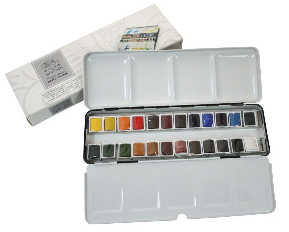 winsor watercolor paints