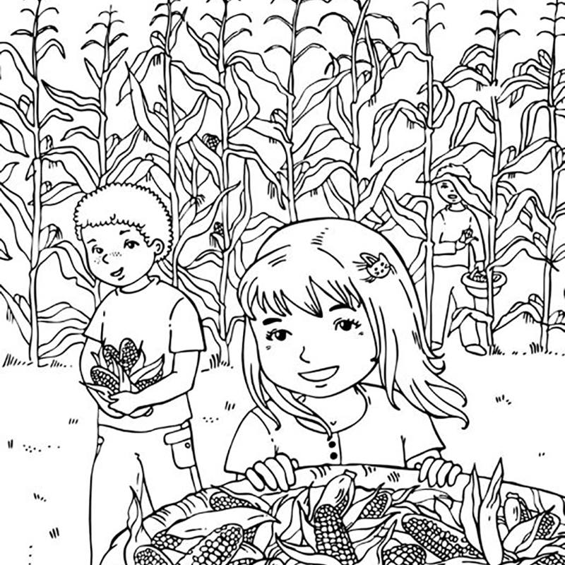 19 Places To Find Free Autumn And Fall Coloring Pages