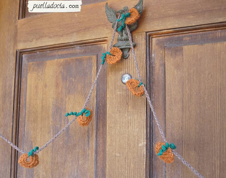 Crochet Pumpkin Garland Free Crochet Pattern