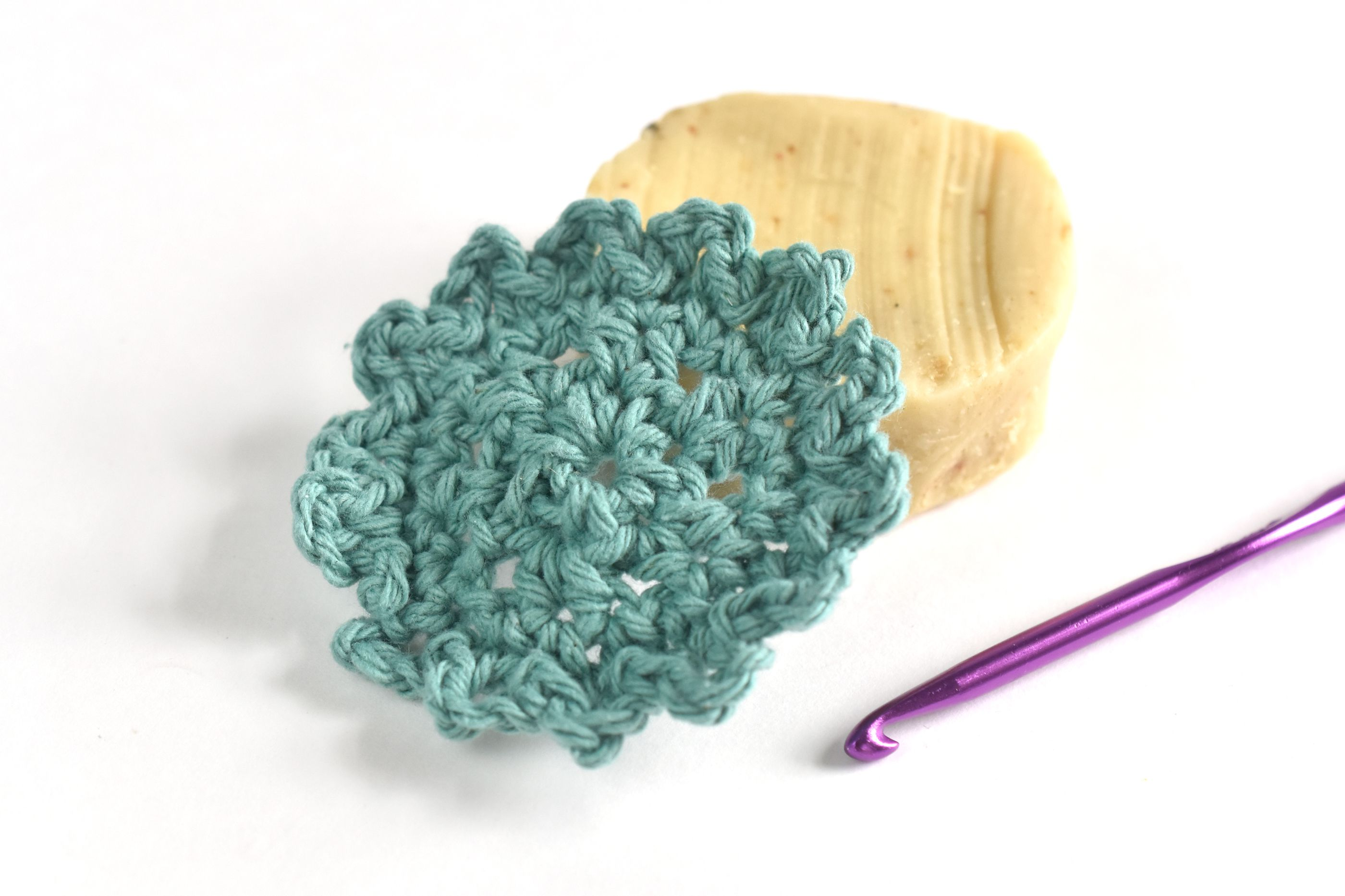 How to Crochet Reusable Face Scrubbies