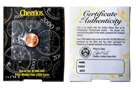 What Is a Cheerios Penny and Why Were They Made?
