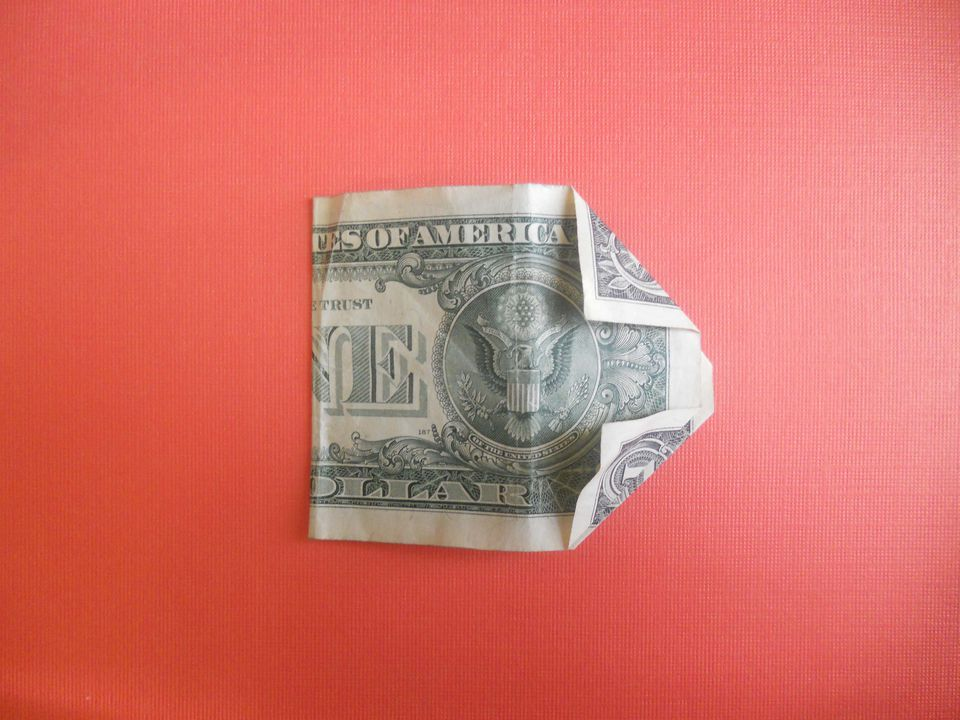 folding your dollar bill
