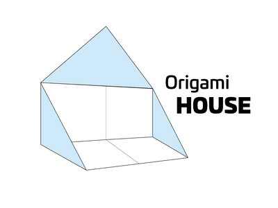 Learn How To Make A Simple Origami House
