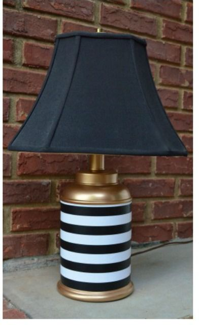 old lamp makeover