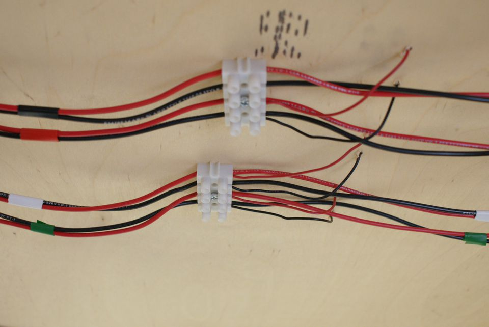 Wiring for model train circuits