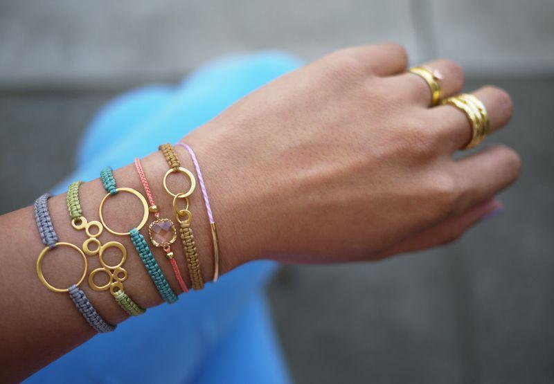 simple macrame bracelet tutorial