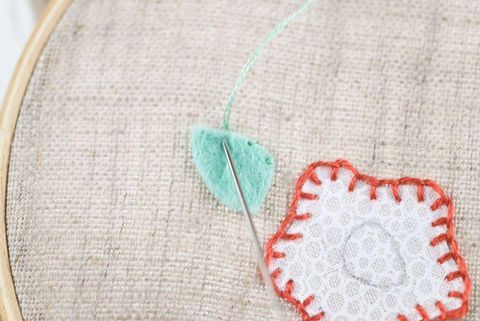 Stitching Felt Pieces