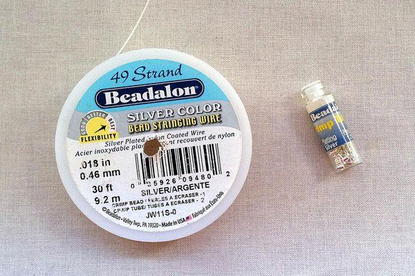 Beadalon Wire and Crimpts