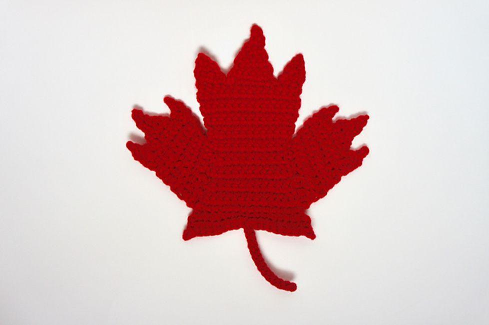 Crochet Maple Leaf Free Pattern