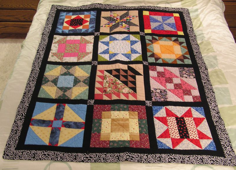 Dot's Scrappy Sampler Quilt