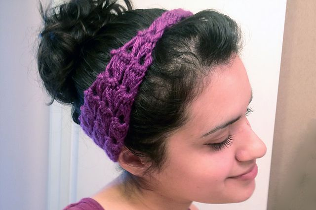 Pin Up Hair Wrap Free Crochet Pattern