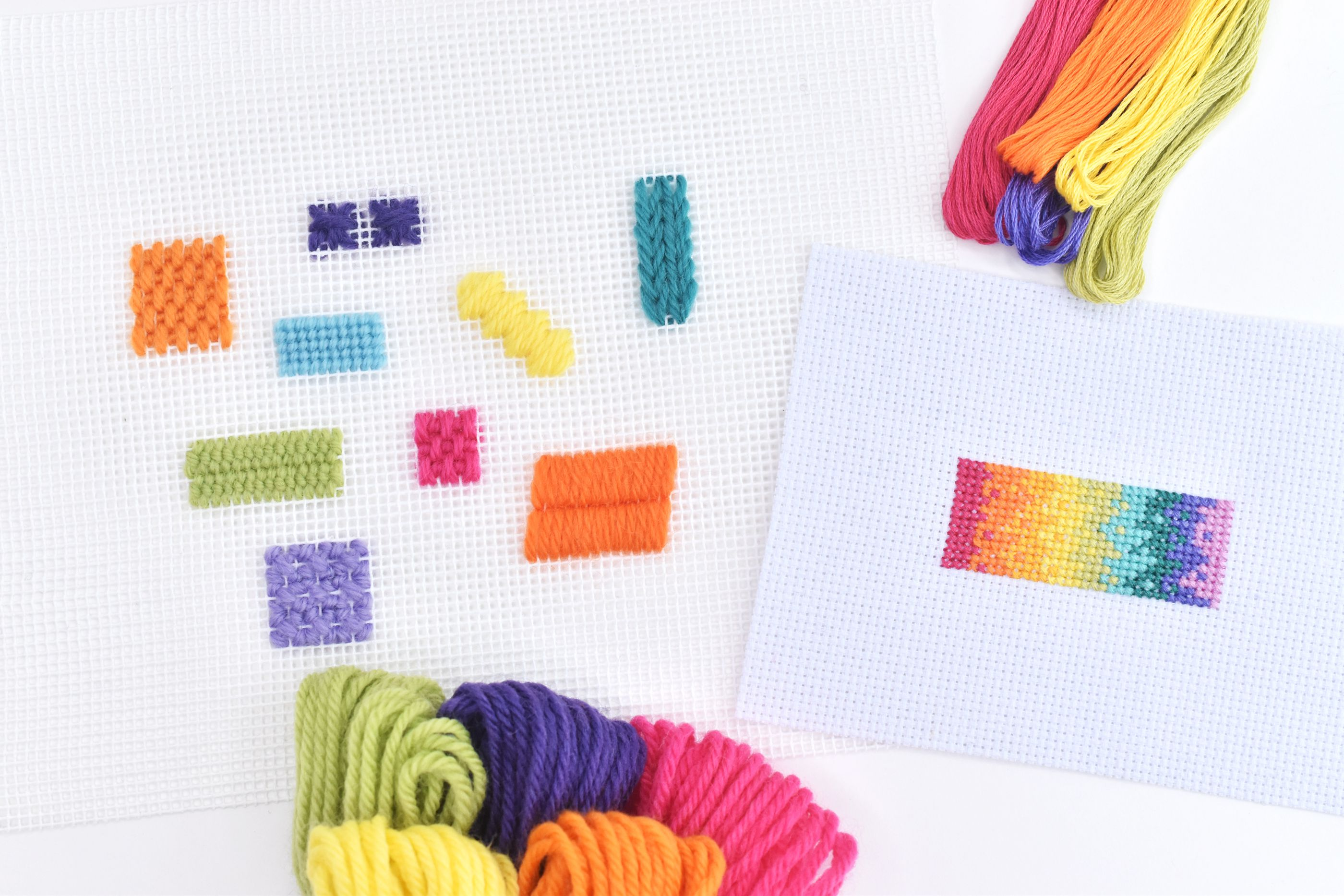 What's the Difference Between Needlepoint and Cross-Stitch?