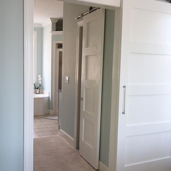 DIY 4 Paneled Barn Doors