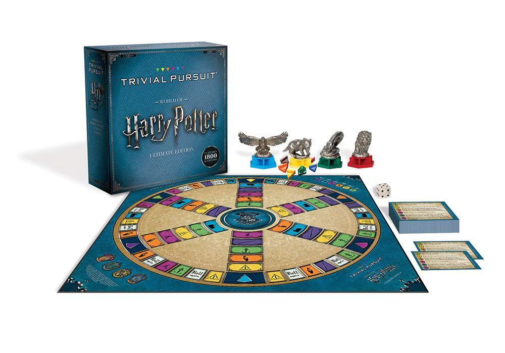 USAopoly World of Harry Potter Ultimate Edition Trivial Pursuit Board Game