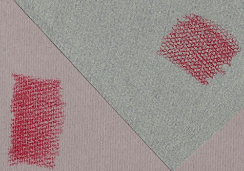 Strathmore Pure Tints (left) and Canson Mi-Teintes