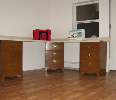 Creating Sewing Space What You Do And Don't Need Inspiration Corner Sewing Machine Table