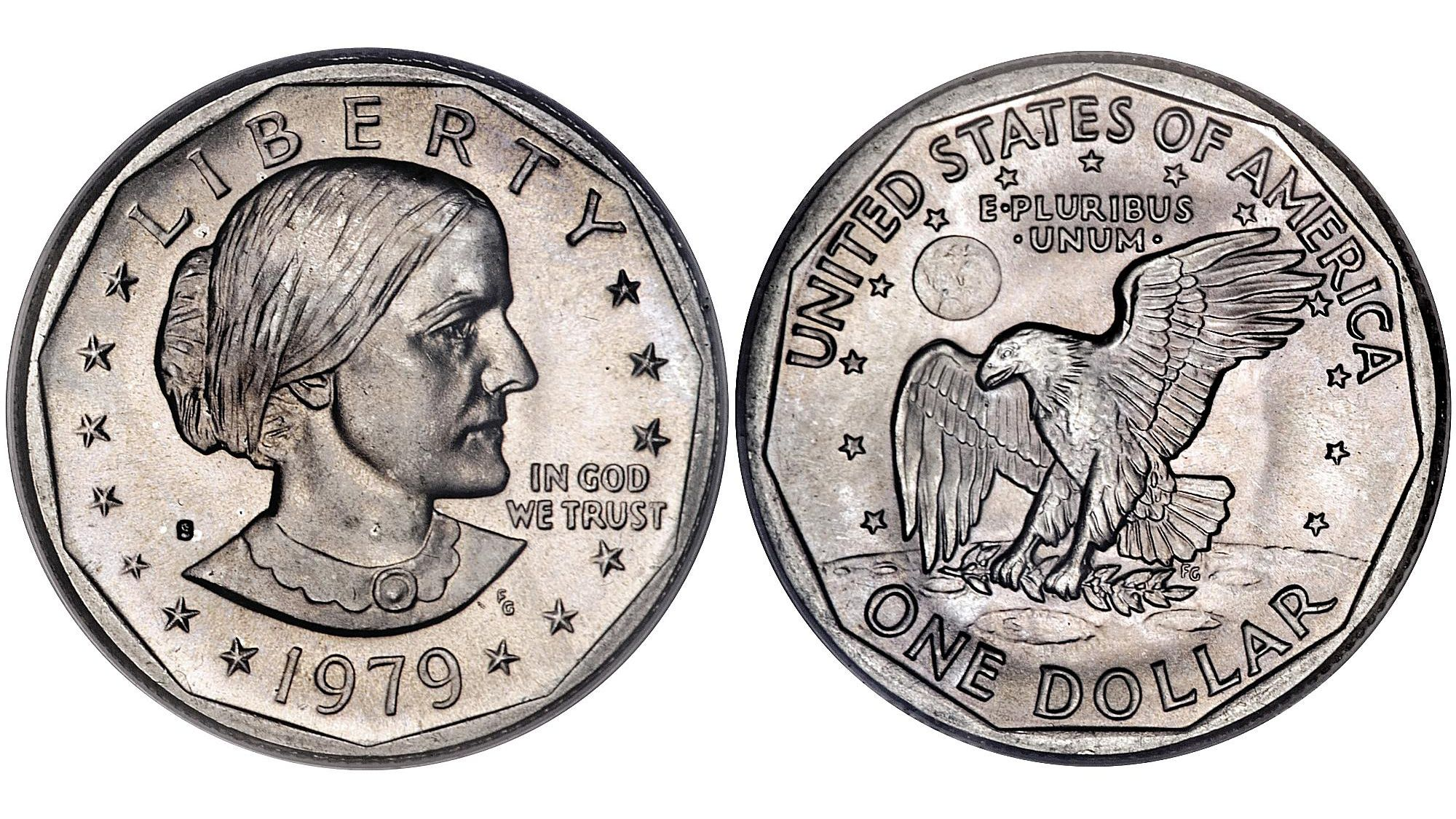 1979 Uncirculated Susan B Anthony Dollar Coin