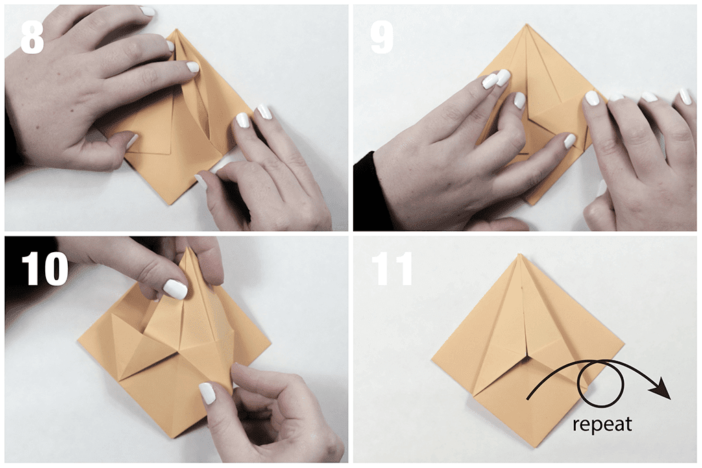 Folding the paper
